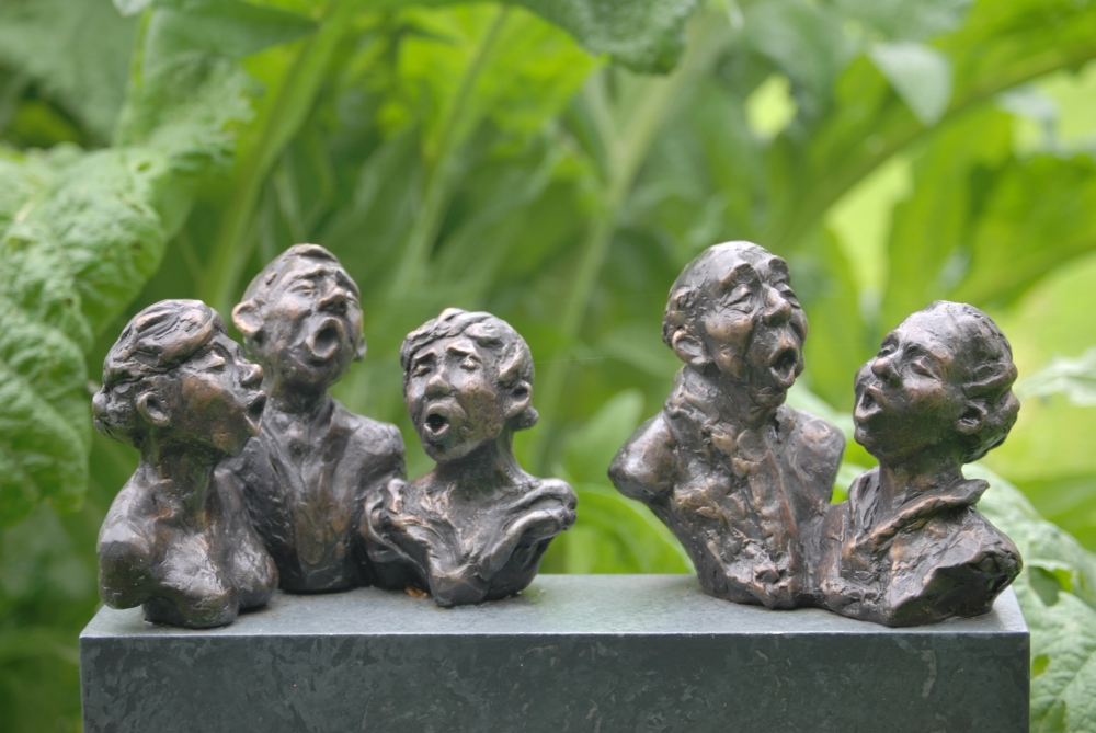 3 Kwintet - brons - Hieke Meppelink