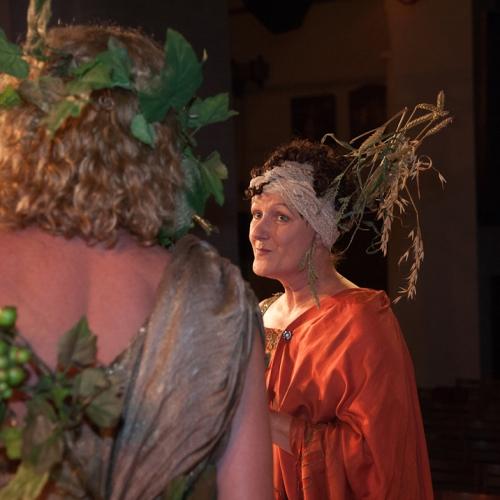 Barokopera De Triomferende Min - rol Ceres - Foto Anna Groot